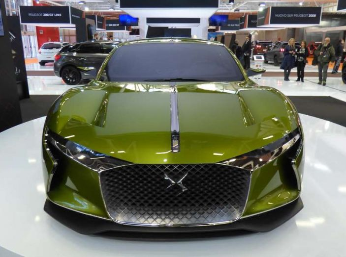 novità Ds e-tense concept motor show Bologna 2016