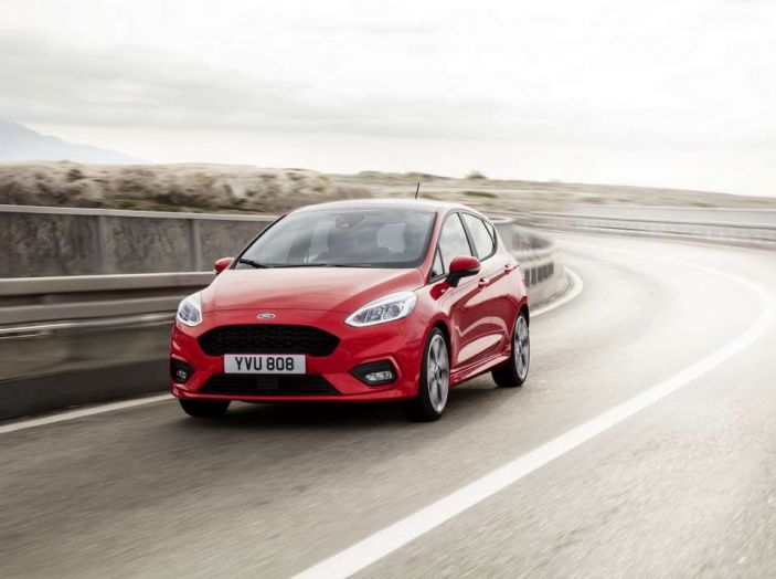 Ford Fiesta nuova generazione.