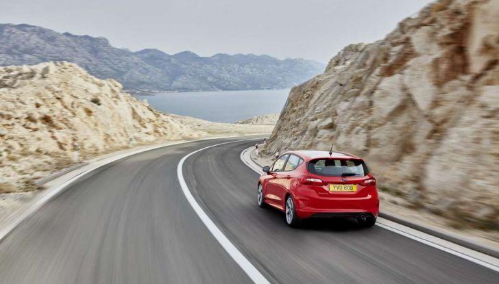 Ford Fiesta 2017, in movimento, nuova generazione.