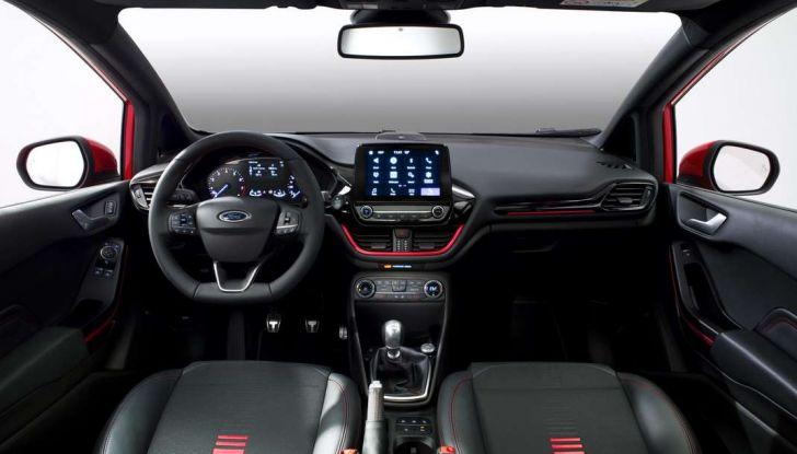 Ford GT 2017, interno.