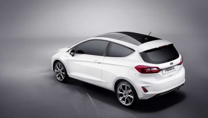 Ford Fiesta 2017 nuova generazione.