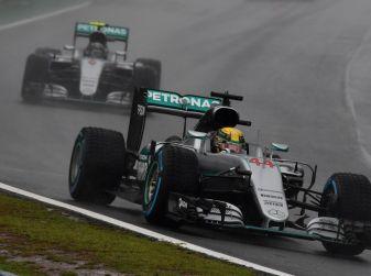 F1 2016, GP del Brasile: Hamilton trionfa nel diluvio, Vettel quinto