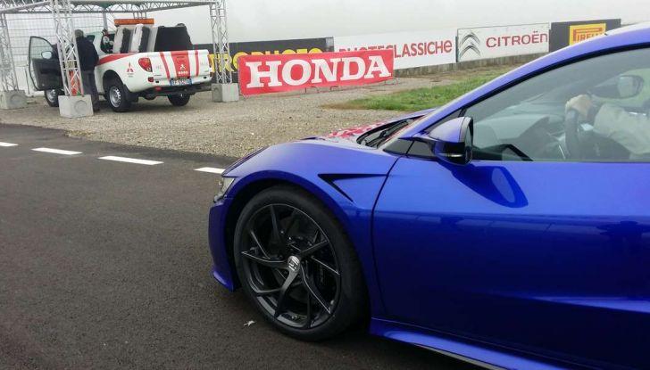 Nuova Honda NSX 2017, in pista a Vairano.
