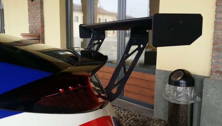 Primo piano Spoiler Honda.