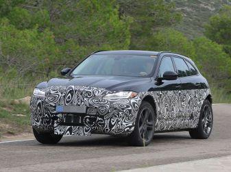 Jaguar I-PACE, prime foto spia del SUV elettrico
