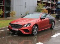 Mercedes Classe E Coupé, prime foto spia della nuova generazione