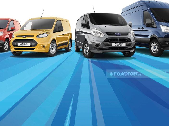 Gamma veicoli commerciali 2016 Ford