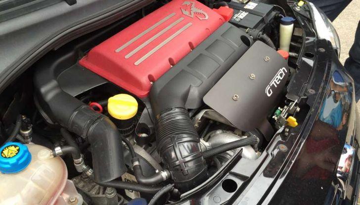 Fiat 500 Abarth con 350CV e 980Nm: le proteine a trazione integrale di G-Tech - Foto 3 di 6
