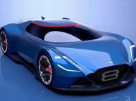 Aston Martin Vision 8: l'ibrido prodotto con Red Bull