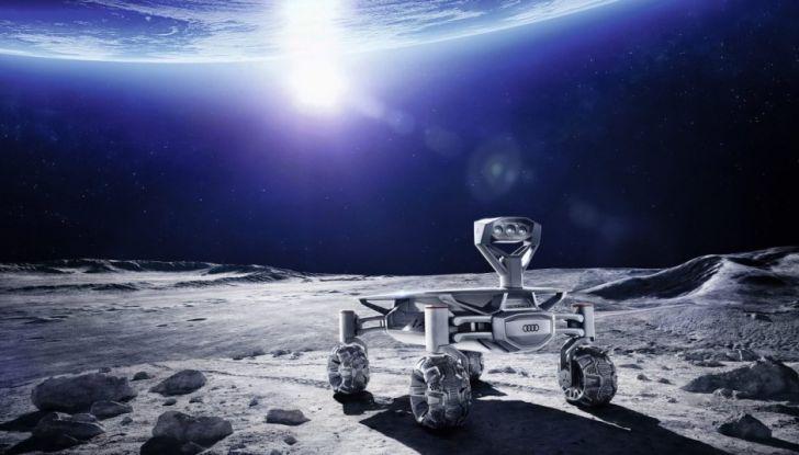 audi quattro tron sulla luna