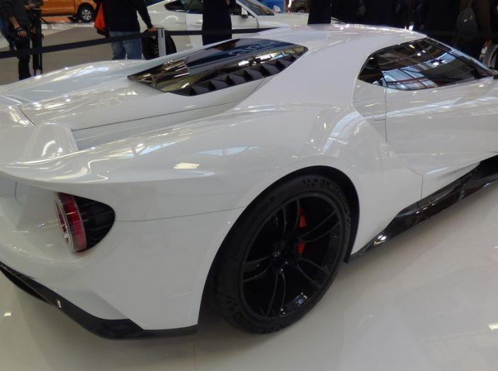 Ford GT 2017, design.