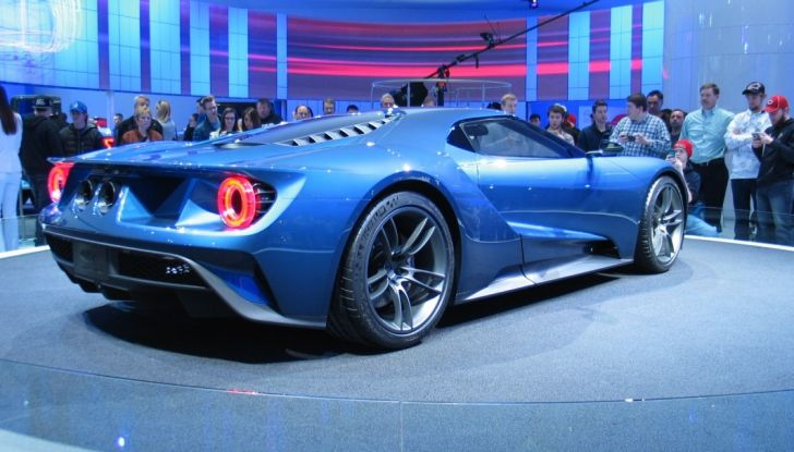 Ford GT 2017, lo stile.