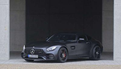 Mercedes AMG GT C Coupé Edition 50 spiata senza veli in anteprima assoluta
