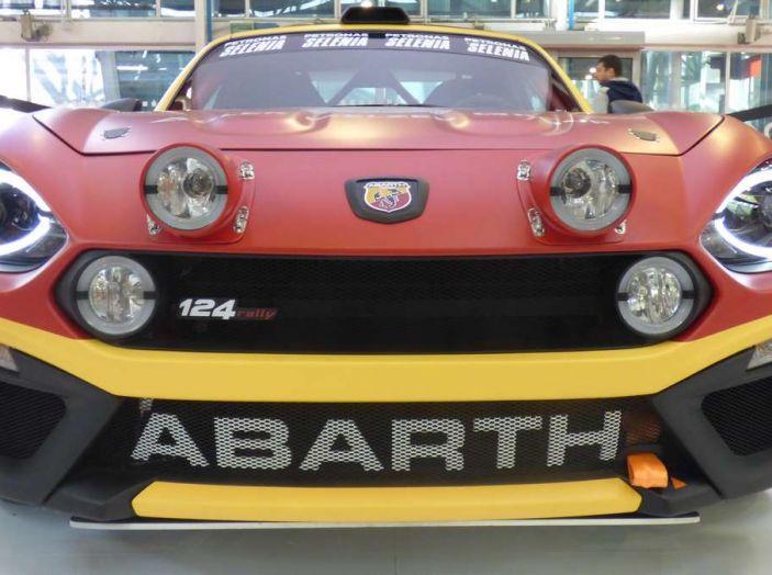 abarth 124 spider anteriore bologna 2016