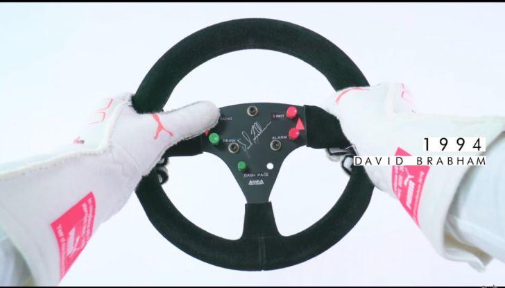 L'evoluzione del volante da Formula 1 raccontato in un video spettacolare - Foto 34 di 49