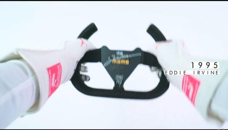 L'evoluzione del volante da Formula 1 raccontato in un video spettacolare - Foto 38 di 49