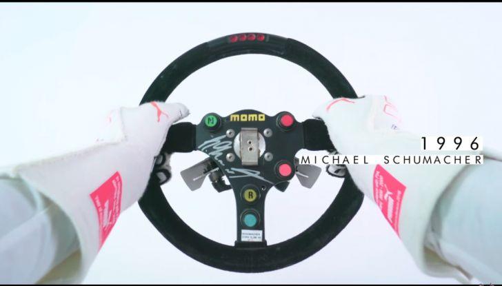 L'evoluzione del volante da Formula 1 raccontato in un video spettacolare - Foto 40 di 49