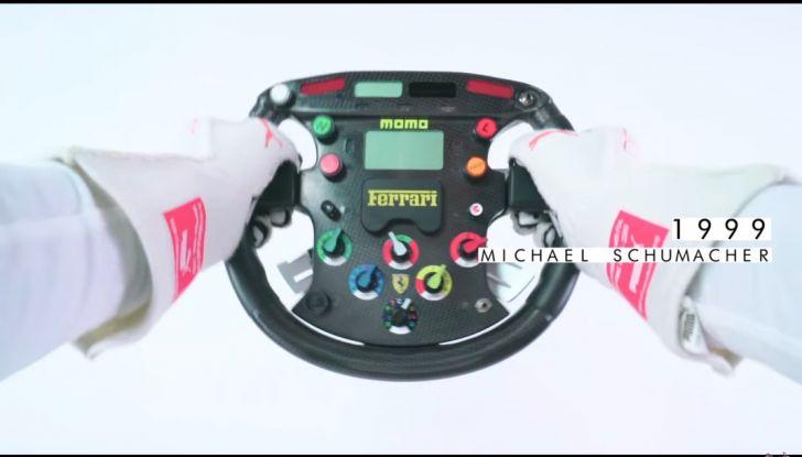 L'evoluzione del volante da Formula 1 raccontato in un video spettacolare - Foto 1 di 49