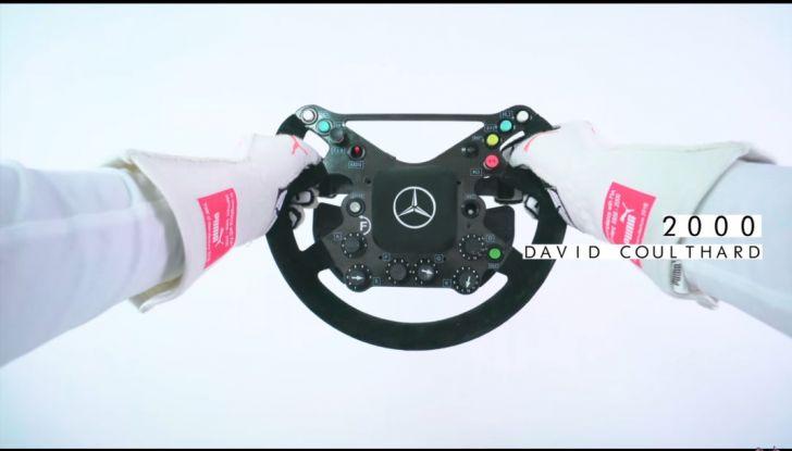 L'evoluzione del volante da Formula 1 raccontato in un video spettacolare - Foto 10 di 49