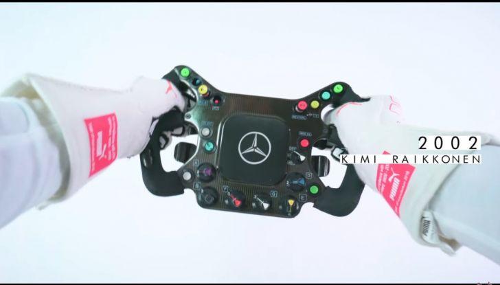 L'evoluzione del volante da Formula 1 raccontato in un video spettacolare - Foto 12 di 49