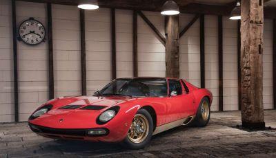 Una Lamborghini Miura SV del 1971 in condizioni perfette va all'asta