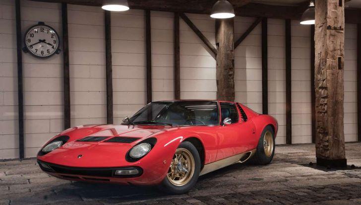 Una Lamborghini Miura Sv Del 1971 In Condizioni Perfette Va All Asta