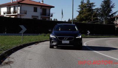 Prova su strada Volvo V40 Cross Country 2016 D2 con Volvo Selekt
