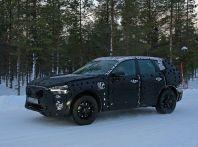 Volvo XC60, nuove foto spia sulla neve della futura generazione