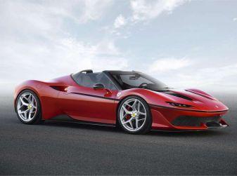 Ferrari J50: la fuoriserie V8 da 680CV in Giappone