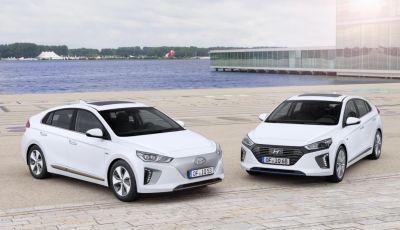 La Hyundai Ioniq promossa ai crash test con 5 stelle Euro NCAP