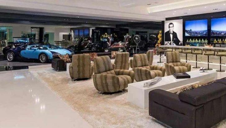 Vendesi villetta compresa collezione supercar a 250 mln dlr