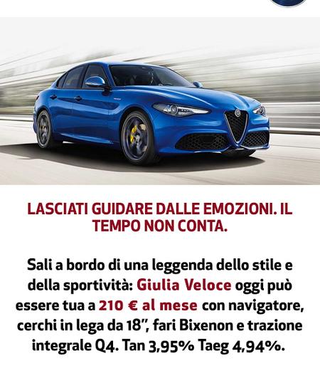 Alfa Romeo Giulia e Abarth 595 nominate Best Car 2017