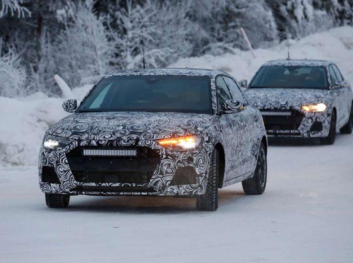 Nuova Audi A1 2018: più grande e potente di prima - Foto 3 di 23