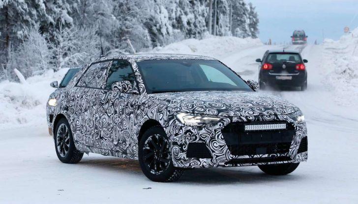 Nuova Audi A1 2018: più grande e potente di prima - Foto 16 di 23
