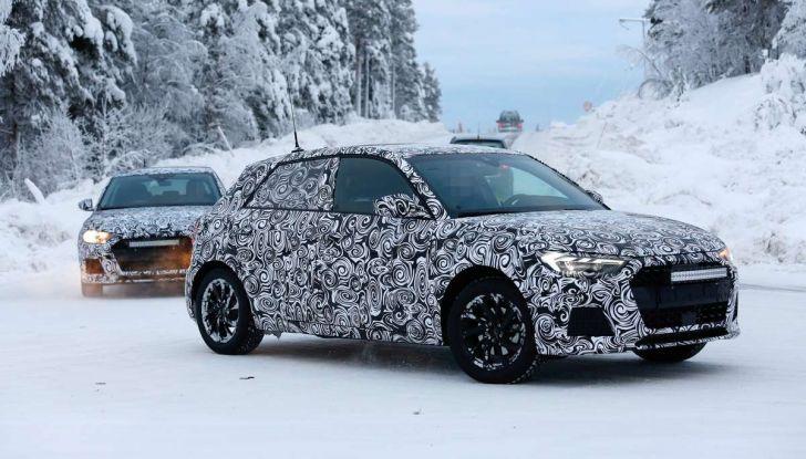 Nuova Audi A1 2018: più grande e potente di prima - Foto 1 di 23