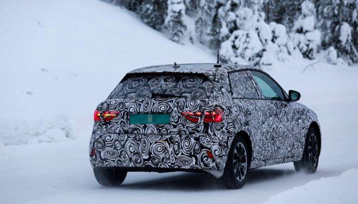 Nuova Audi A1 2018: più grande e potente di prima - Foto 18 di 23