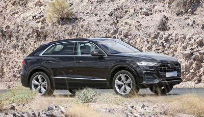 Audi Q8 2018, nuove foto spia del SUV tedesco