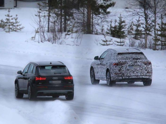 Audi Q8 arrivo 2018