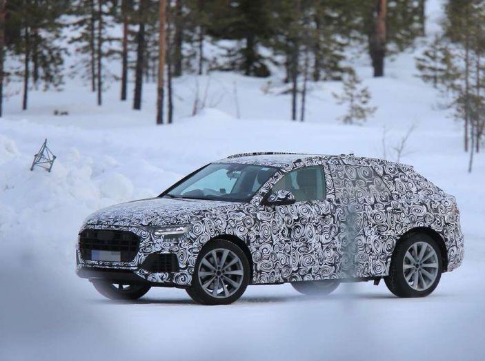 foto spia Q8 Audi
