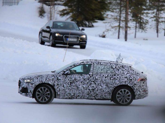foto spia Q8 Audi laterale