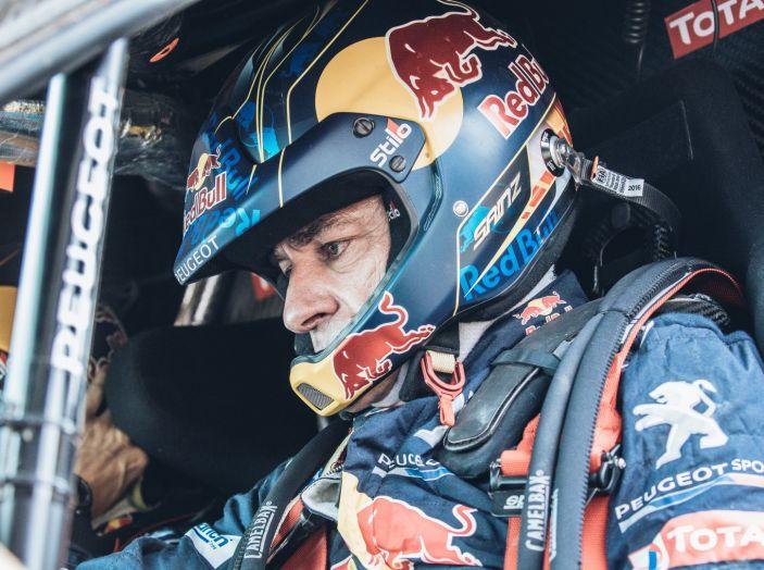 Intervista a Carlos Sainz, dopo l'abbandono della Dakar 2017 - Foto 3 di 5
