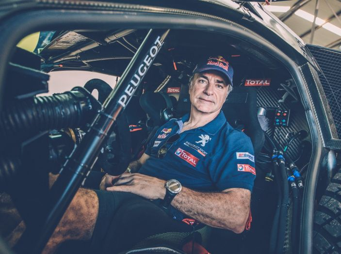 Carlos Sainz si ritira dalla Dakar 2017 - Foto 2 di 3