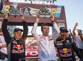 Peugeot vince ancora la Dakar! Podio 100% 3008DKR
