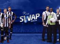 Dacia the Swap, i giocatori dell'Udinese Calcio si trasformano per i propri tifosi