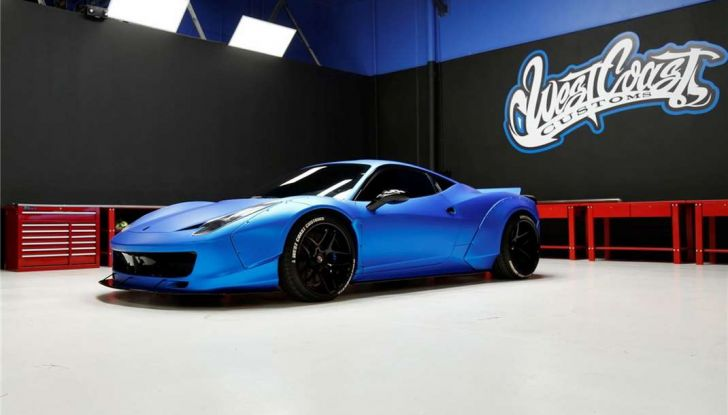 La Ferrari 458 Italia Liberty Walk di Justin Bieber in vendita all'asta (6)