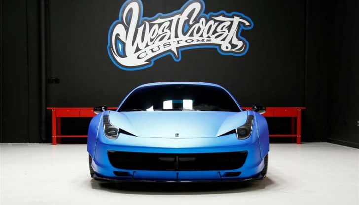 La Ferrari 458 Italia Liberty Walk di Justin Bieber in vendita all'asta (7)