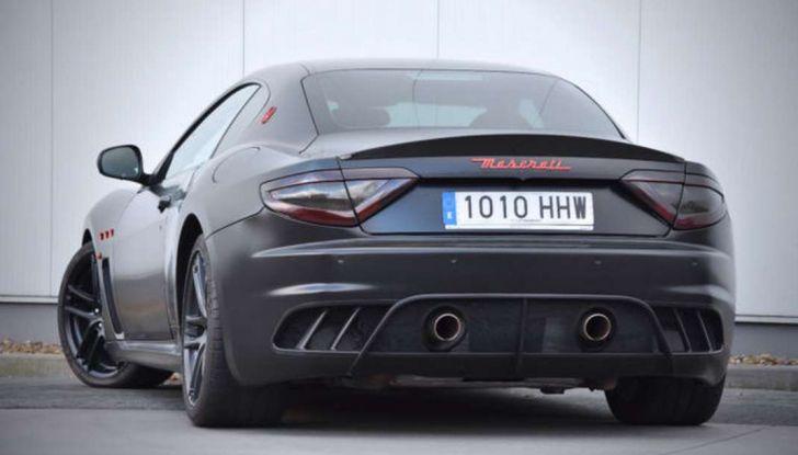 La Maserati GranTurismo MC Stradale di Lionel Messi è in vendita - Foto 12 di 15