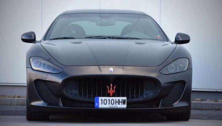 La Maserati GranTurismo MC Stradale di Lionel Messi è in vendita - Foto 5 di 15
