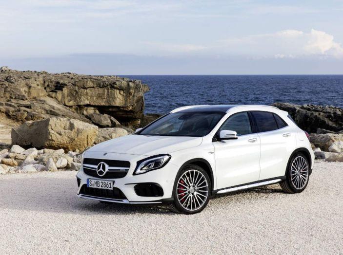 Mercedes GLA: motorizzazioni, allestimenti e dispositivi di sicurezza - Foto 11 di 30