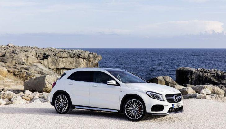 Mercedes GLA: motorizzazioni, allestimenti e dispositivi di sicurezza - Foto 12 di 30